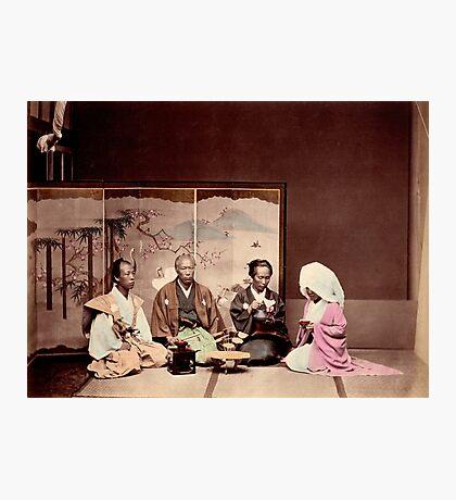 Japanese wedding Photographic Print