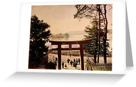 View of Uyeno, Tokyo by Fletchsan
