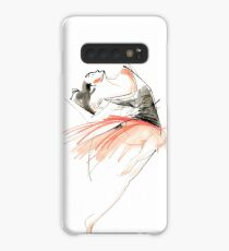 Expressive Dance Drawing Case/Skin for Samsung Galaxy