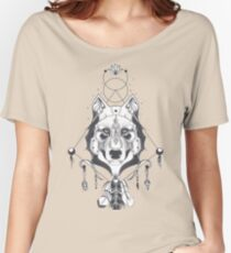 Wolf T-shirt   Husky T-shirt for man and woman - The Best Gift For Dog Lovers! Women's Relaxed Fit T-Shirt