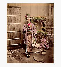 Japanese child Photographic Print