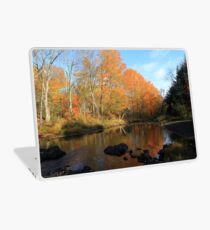 Autumn Brook Reflections - Nova Scotia Canada Laptop Skin
