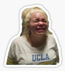 Trisha Paytas Crying And Bawling Sticker