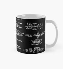 Maxwell's Equations [dark] Tasse (Standard)