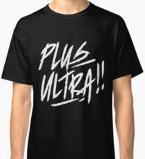 Boku no Hero Academia shirt [ PLUS ULTRA!! ] black Classic T-Shirt