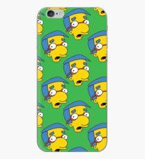 Milhouse auf Grün iPhone-Hülle & Cover