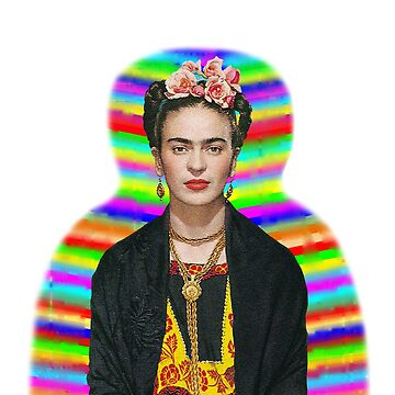 Frida Kahlo Rainbow by jonaszeferino