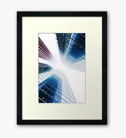 Huddle Framed Print
