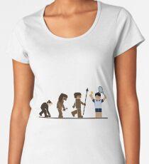 Tennis Evolution Women's Premium T-Shirt
