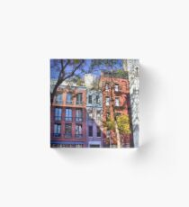 Christopher St And Gay St Acrylic Block
