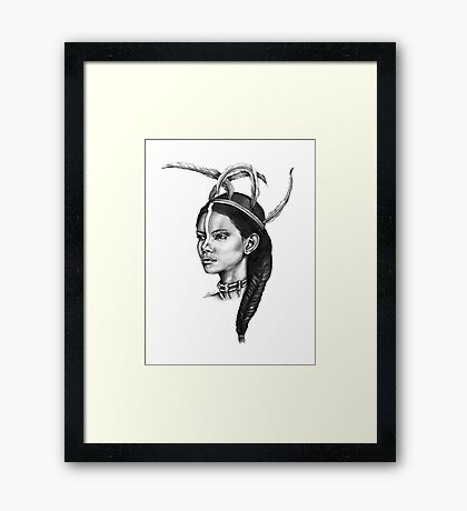 Brave | The Beauty Collection Framed Print