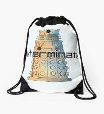 Exterminate Drawstring Bag