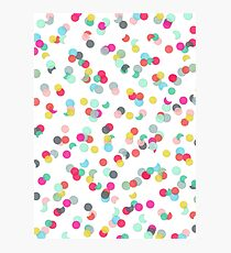CONFETTI MIX Photographic Print