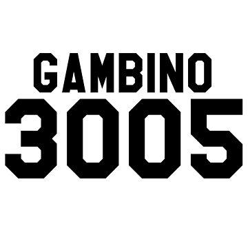 Childish Gambino 3005 Jersey (Black) by ThePhanBible