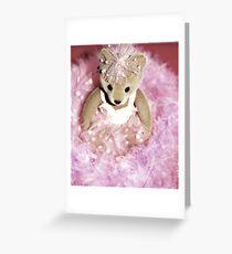 Pink Ballerina Greeting Card