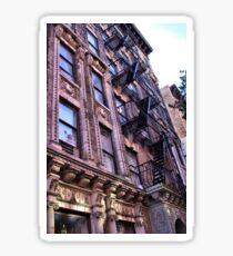 Greenwich Village Architectural Details Sticker
