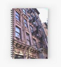 Greenwich Village Architectural Details Spiral Notebook