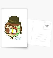Deceit the Snake Boy  Postcards