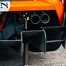 Lamborghini Exhaust Detail by trackography