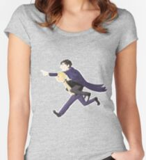 On their way to solve a case!  Women's Fitted Scoop T-Shirt