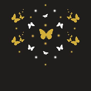 Gold Butterfly Surprise by emma60