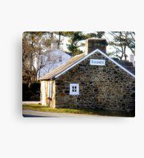 White Horse, Pennsylvania Blacksmith Shop Canvas Print