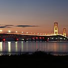 Mighty Mac Sunset by Megan Noble