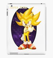 Super Sonic iPad Case/Skin