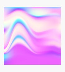 Hologram bright colorful print Photographic Print
