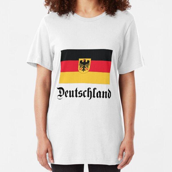 Deutschland - light tees Slim Fit T-Shirt