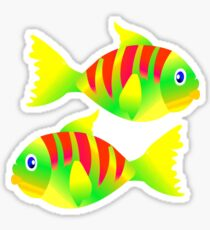FISHY T-Shirt Sticker