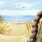 Beach by MadameCat-Art