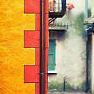 Colorful wall by Silvia Ganora