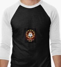 Football World Cup  Men's Baseball ¾ T-Shirt