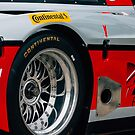 Daytona Prototype Wheel Detail by trackography