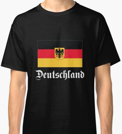 Deutschland - dark tees Classic T-Shirt