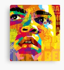 Float Like A Butterfly Sting Like A Bee Canvas Print