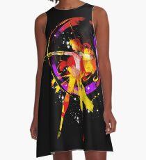 mars splash A-Line Dress