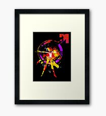 mars splash Framed Print