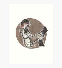 Hiromu and Daryl Art Print