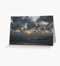 Water Front Greeting Card