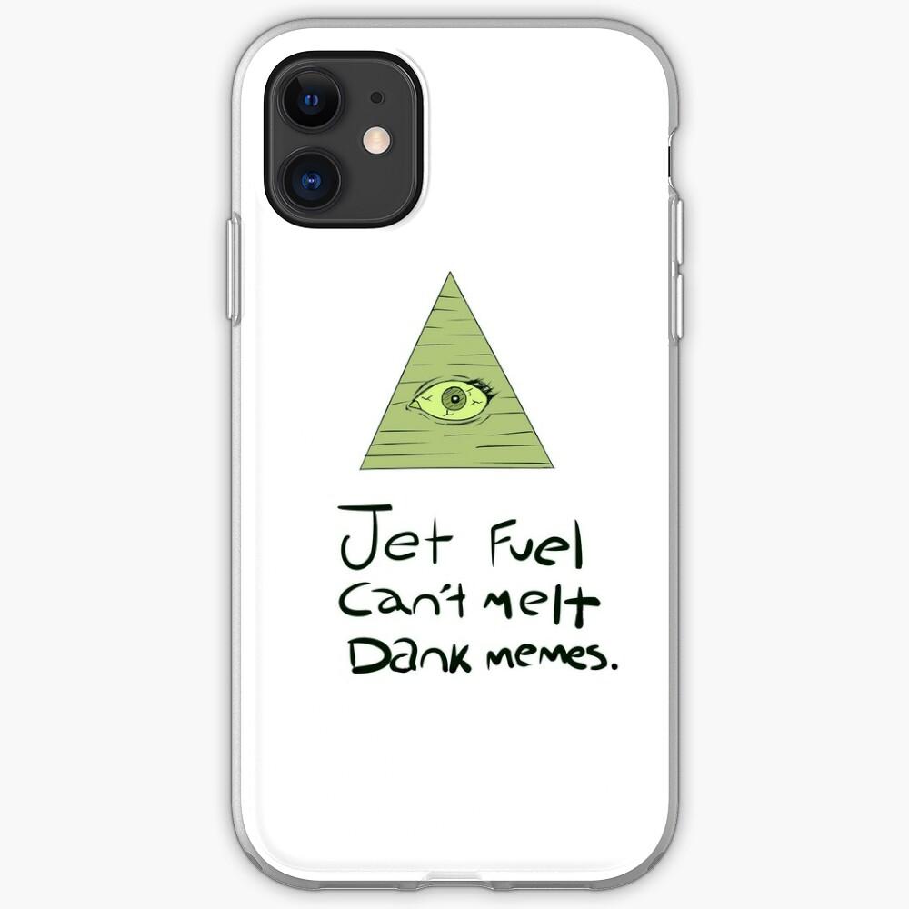 Jet Fuel Can't Melt Dank Memes iPhone Case & Cover