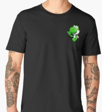 Pocket Yoshi Tshirt Men's Premium T-Shirt