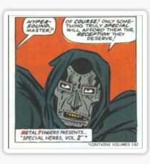 MF Doom Special Herbs Sticker