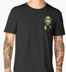 Pocket Luigi Tshirt Men's Premium T-Shirt