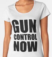 Gun Control Sticker Women's Premium T-Shirt