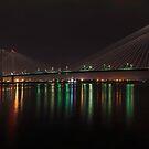 The Pasco Cable Bridge by Jim Stiles