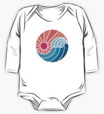 Sun & Sea Long Sleeve Baby One-Piece