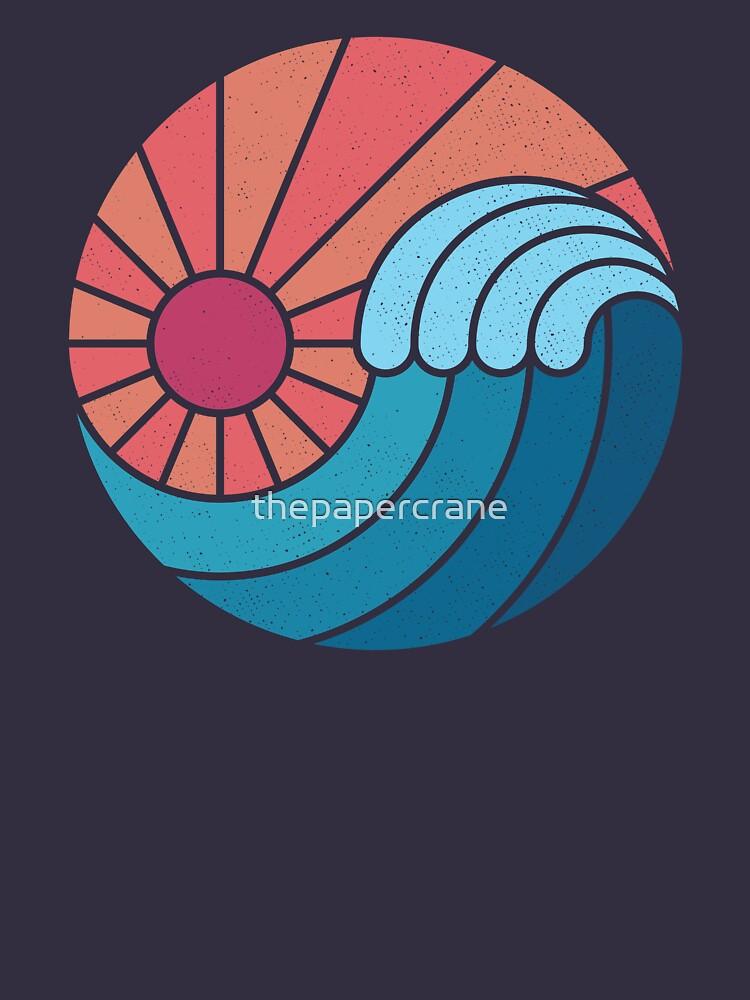 Sun & Sea by thepapercrane