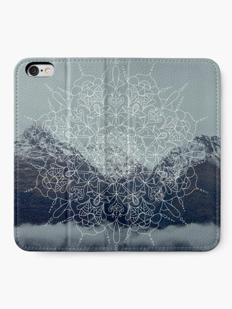 Alternative Ansicht von Berg Mandala iPhone Flip-Case